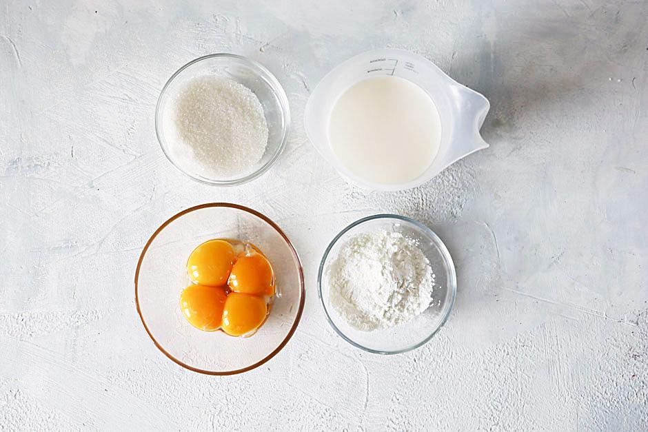 заварной крем ингредиенты