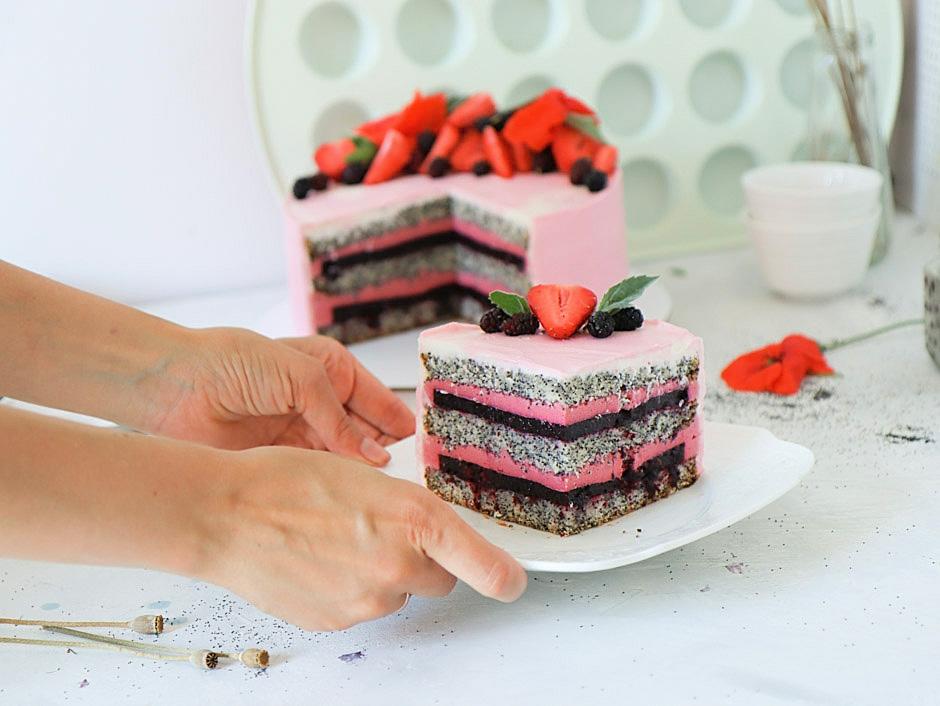 маковый торт рецепт